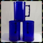 CANECA CHOPP COLORIDA NEON GRANDE